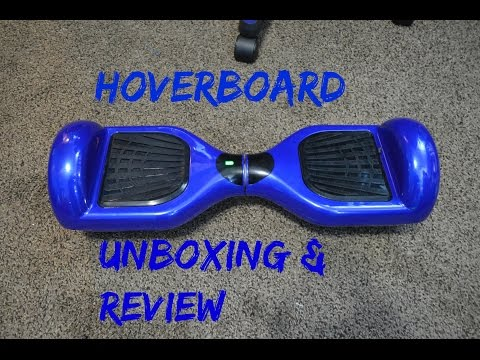Hoverboard Unboxing And First Ride Doovi
