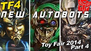 Toy Fair 2014 Pt. 4 - New AUTOBOT toys REVEALED - [TF4 News #95]