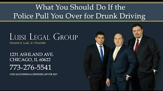 Luisi Legal Group Video - What You Should Do If the Police Pull You Over for Drunk Driving