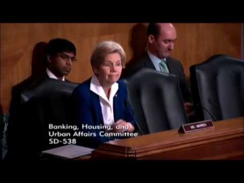 Senator Elizabeth Warren Commends CFPB Director Richard Cordray At Senate Banking Committee Hearing
