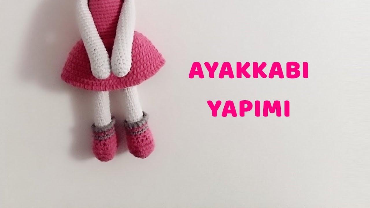 2.Amigurumi Lol Bebek Yapımı Dudak, Göz ve Saç - YouTube | 720x1280