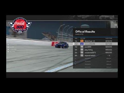 NASCAR Heat 4  - charlotte recovery |