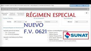 Nueva Declaración IGV Renta Mensual 0621 2018 RÉGIMEN ESPECIAL| Tutorial paso a paso.