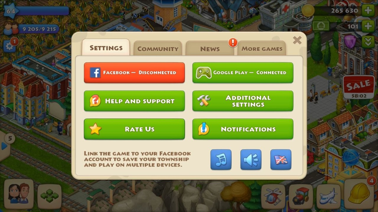 how to play township on facebook