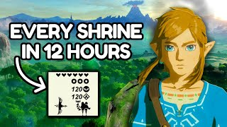 How quickly can you complete EVERY Shrine in Breath of the Wild? [1/2]