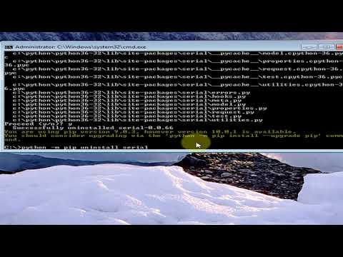 Python - AttributeError: module 'serial' has no attribute 'Serial