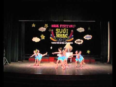 Suoi Nhac music festival 2012 P4 - Dance sport Chachacha
