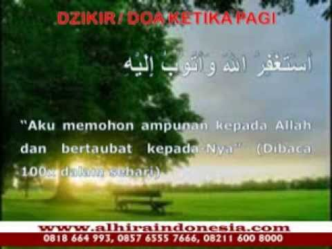 Doa Dzikir Saat Pagi Hari