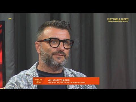 """Elettori & Eletti 2020: Giuseppe Tupputi, candidato lista """"Con Emiliano"""" alla Regione Puglia"""