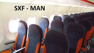 TRIP REPORT | Easyjet A320 | Berlin SXF to Manchester Airport | Full Flight with Meal! [Full HD]