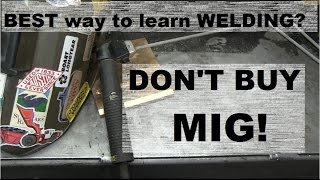 WELDING: THE BEST WAY TO LEARN!(Official C**T Hair ruler: ▻ https://www.etsy.com/ca/listing/464202928/one-rule-to-ruler-them-all-cheeky-jokes I clean up the shop and make a steel storage rack., 2016-11-06T01:24:03.000Z)
