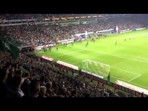 Wonderwall | Werder Bremen - VfB Stuttgart 6:2 (3:1) | 02.05.2016 | Weserstadion Ostkurve