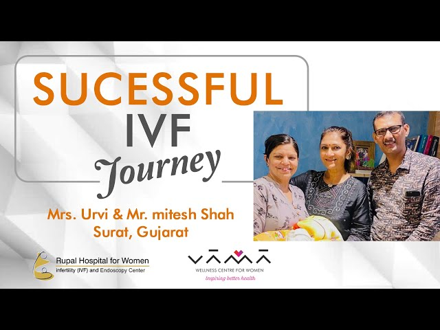 Couple blessed with a baby after 22 years of marriage, 4 failed IVF & miscarriages - Dr.Rupal Shah
