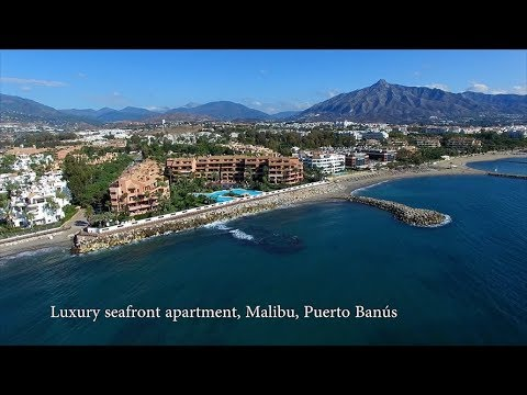Luxury Seafront Holiday Rental Apartment, Malibu, Puerto Banús