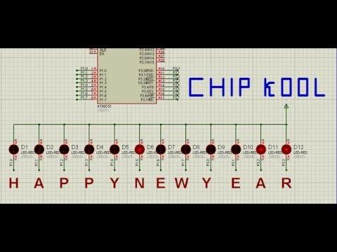 Lập trình Chữ Happy New Year