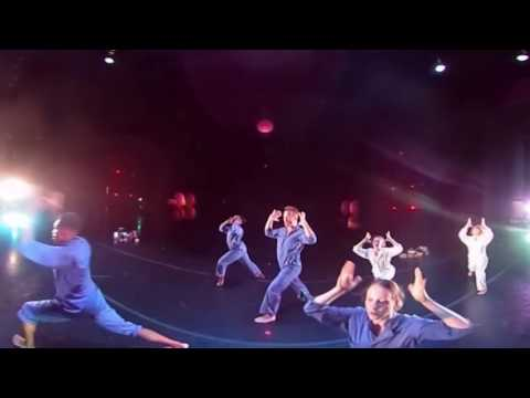 """360° View of """"SEL FOU!"""" by Bebe Miller, Performed by OSU Dance in """"Dance Downtown"""" (excerpt)"""