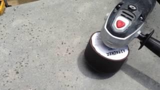 Concrete countertop w/fiber optics embedded 22 of 23