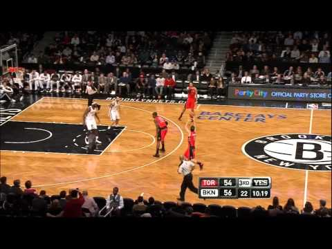 Raptors vs Nets | Landry Fields Highlights (1-15-13)