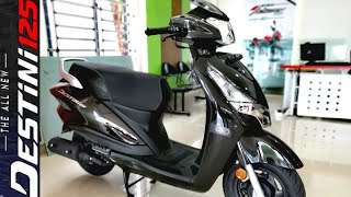 2020 Hero Destini 125 BS6 Scooter Launched In India: Prices Start At Rs 64,310