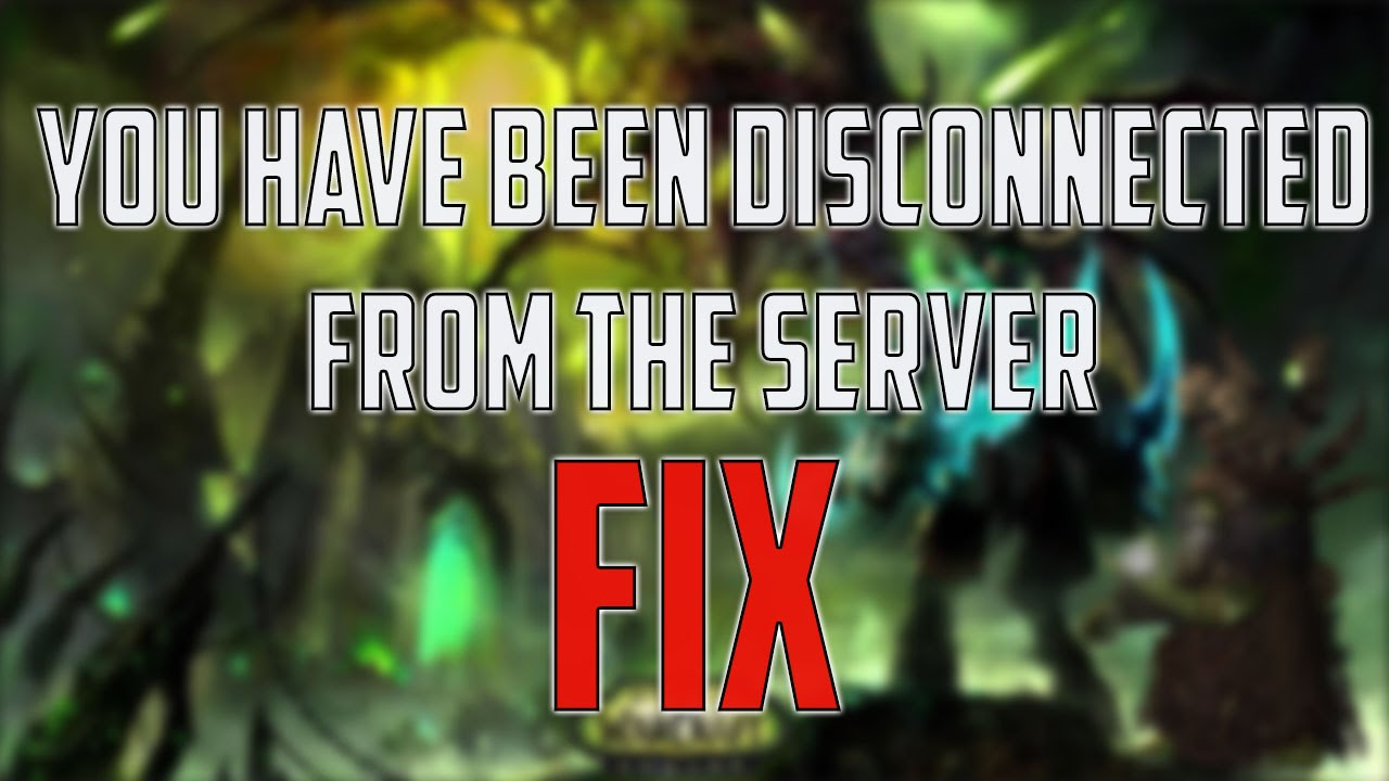 How TO FIX You have been disconnected from the server WOW, OVERWATCH,  HEARTHSTONE, DIABLO 3 Tutorial