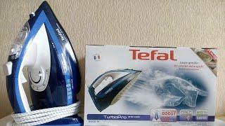 Утюг Tefal fv5630 EO с Durilium подошвой полный обзор