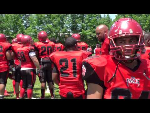 Wilmington Wolfpack Vs Delco Cowboys 2017 NEAFL Conference Championship