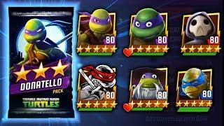 Donatello (nickelodeon) Pack opening. Teenage Mutant Ninja Turtles Legends gameplay 406