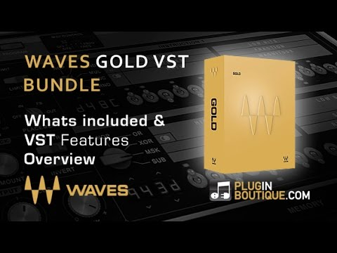 Waves Audio Gold Bundle Plugins - Features Overview