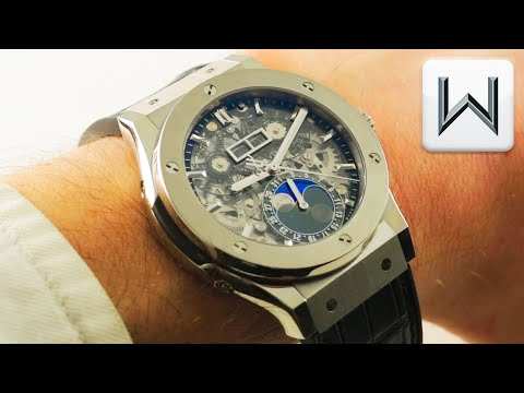 Hublot Classic Fusion Aerofusion Moonphase (547.NX.0170.LR) Luxury Watch Review