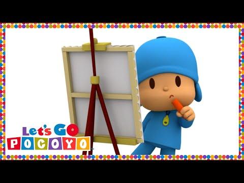 Let's Go Pocoyo! - Painting with Pocoyo [Episode 26] in HD