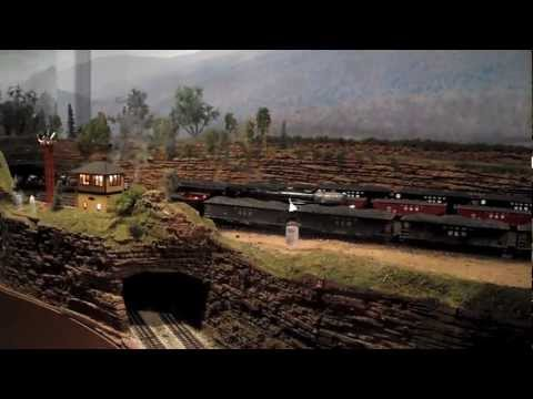 Patrick's HUGE O scale Layout!