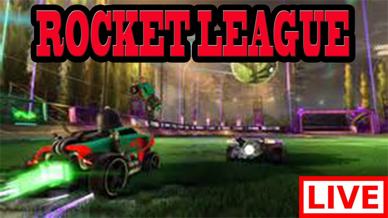 ROCKET LEAGUE LIVE First Attempt Gameplay With Friends