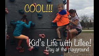Kid's Life with Lillee - Day at the Playground!!