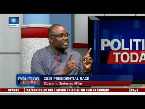 Ononuju, Adigba Debate Implication Of Obasanjo Endorsing Atiku Pt.2  Politics Today 