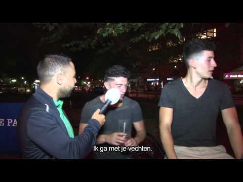 Salaheddine in Amerika: Straattaal leren!