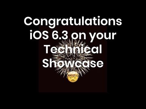 IOS 6.3 Technical Showcase