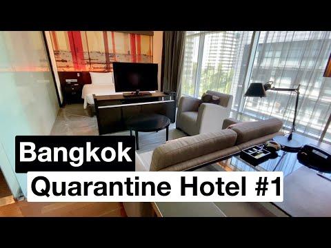 Bangkok Quarantine Hotel  Video Tour 1 (with Cost)  ASQ Hotel Option