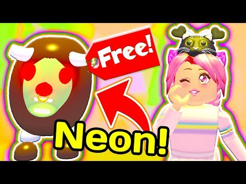 How To Get A FREE NEON ZOMBIE BUFFALO In Roblox Adopt Me! New HALLOWEEN Update!