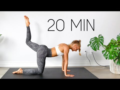 20 MIN FULL BODY WORKOUT (Equipment Free At Home)