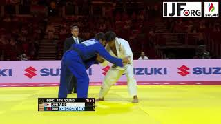 Suzuki World Judo Championships 2017. [-66KG] ABE Hifumi (JPN) vs. CRISOSTOMO Joao (POR)