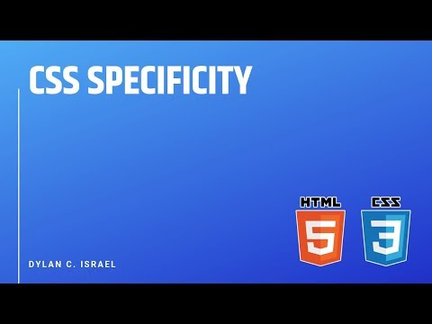 CSS Specificity | HTML, CSS, & JavaScript Front End Interview Prep with Dylan Israel | #css #html thumbnail