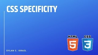 CSS Specificity | HTML, CSS, & JavaScript Front End Interview Prep with Dylan Israel | #css #html