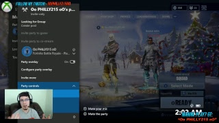 Game Night! Come Play With Me (Message My GT) - Fortnite Battle Royale!