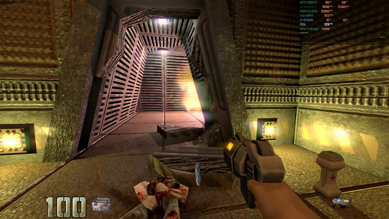 Quake2 RTX on 1080TI + xp mod comparison
