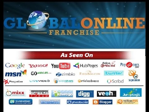Global Online Franchise career you can work from home 2018