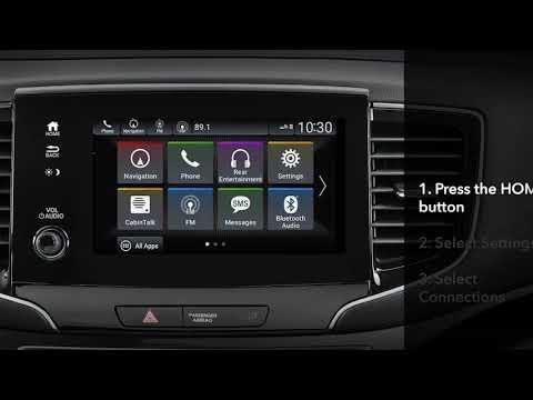 Honda Pilot: How to Reactivate Apple CarPlay™ or Android Auto™ After  Disabling