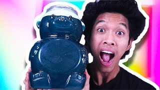 DIY GIANT JELLO GUMMY BEAR!!!