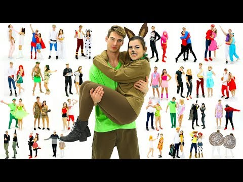 Thumbnail: 30 Last-Minute COUPLE Halloween Costume Ideas! DIY Costumes!