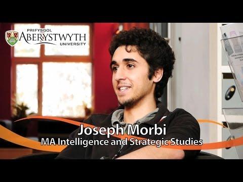 Postgrad Student Talks: Joseph Morbi, MA Intelligence and Strategic Studies