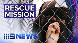 Australians in limbo on Turkey-Syriaborder   Nine News Australia